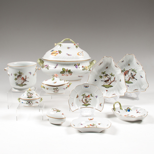 Herend Porcelain Service, Rothschild Bird