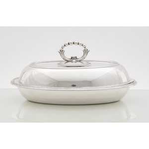 English Sterling Victorian Vegetable Dish