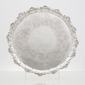 George II Sterling Salver