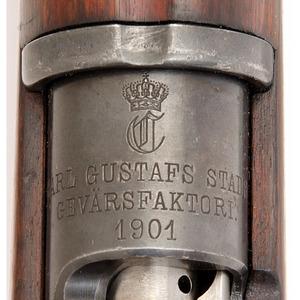 ** Swedish Model 1901 Mauser Rifle