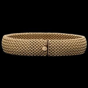 14k Gold Woven Bracelet