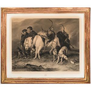 Engraving After Edwin Landseer (English, 1802-1873)