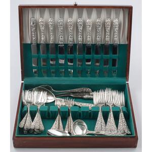 Schofield Sterling Silver Flatware, Baltimore Rose
