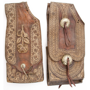 Lot of Two Late 19th Century Saddle Bags