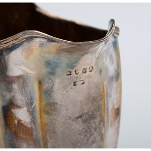 English Sterling Creamer, Presented to Alice Belin DuPont