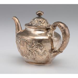 Gorham Repoussé Sterling Teapot