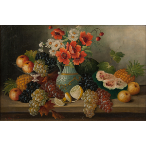 Early-20th-Century Still Life, Signed