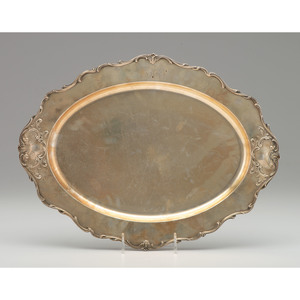Gorham Sterling Oval Tray