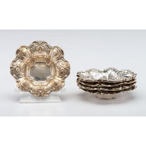 Reed & Barton Sterling Francis I Nut Dishes