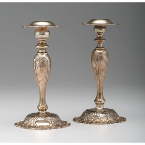 Mauser Sterling Weighted Candlesticks
