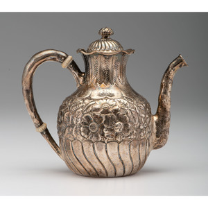 Gorham Sterling Floral Coffee Pot