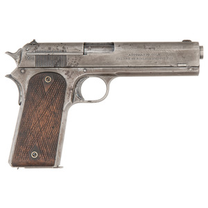 Colt Model 1907 Pistol, US Army Trials, One of 201