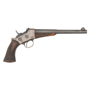 ** Remington Model 1901 Target Rolling Block Pistol