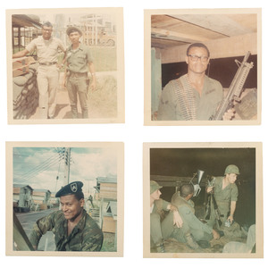 African American Soldier in Vietnam Photo Archive, Lot of 132
