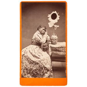 J.A. Palmer Wilde Woman of Aiken Cabinet Card, 1882