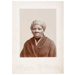 Harriet Tubman Cabinet Card by H.S. Squyer, Auburn, New York