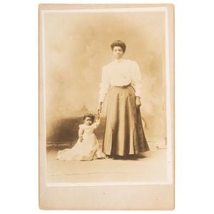 Princess Wee Wee Cabinet Card, ca 1913