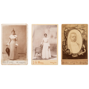 Texas Cabinet Cards of African Americans, ca 1890-1900