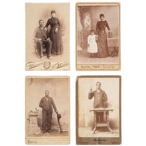 Colorado and Nebraska Cabinet Cards of African Americans, ca 1885-1895