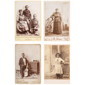 Kansas Cabinet Cards of African Americans, ca 1885-1900