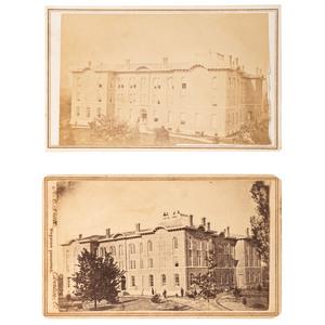 Oberlin College CDVs, ca 1868, Lot of 2