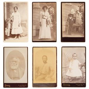 CDVs of Napa, California African American Family, ca 1865-1888