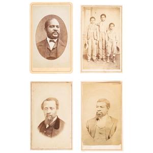 Santa Cruz CDVs of African Americans, ca 1866-1875