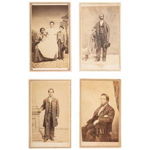 San Francisco CDVs of African Americans, ca 1864-1895