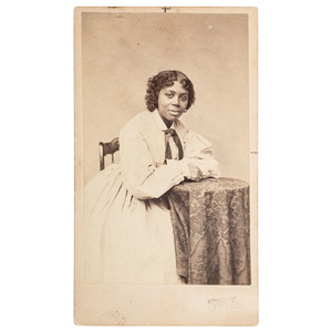 Edmonia Lewis CDV, ca 1870