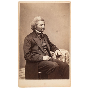 Unpublished CDV of Frederick Douglass by Benjamin F. Smith, 1864