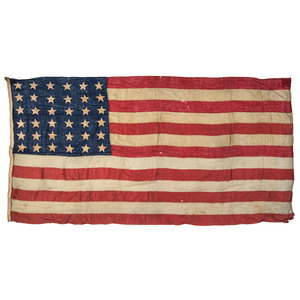 Civil War-Era 36-Star American Flag