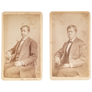 CDVs of African American Oberlin Students, ca 1875