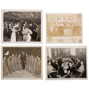 Dorie Miller Photographs and Pinback, ca 1941-1942