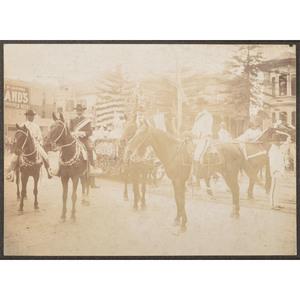 Fiesta Parade, Los Angeles, ca 1900