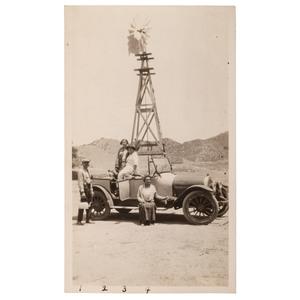 Snapshot from Eureka Villa, Negro Country Club near Los Angeles, 1924