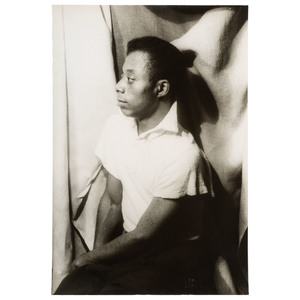 Carl Van Vechten Portrait of James Baldwin, New York, 1955