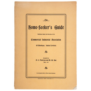 The Home-Seeker's Guide for African American Homesteaders in Indian Territory