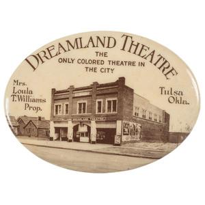 Dreamland Theatre Tulsa, Oklahoma Mirror Related to Tulsa Riots