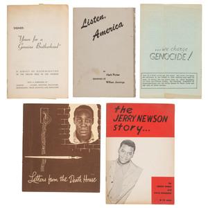 Anti-Discrimination Pamphlets, California, 1950-1953