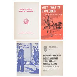 Watts Riots Pamphlets, 1965-1966