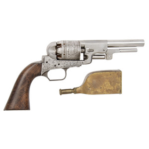 Belgian Revolver in Case with Tools