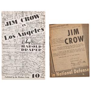 Los Angeles Anti-Jim Crow Pamphlets, 1941-1946