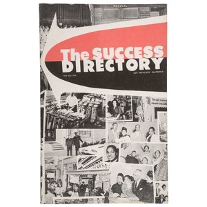 The Success Directory, 1959 San Francisco Black Business Directory