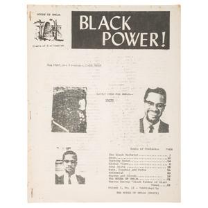 Black Power! Magazine, Vol. I, No. 11, 1968