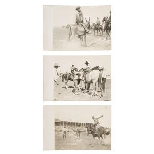 Ty Stokes Salinas, California Rodeo Real Photo Postcards, 1920