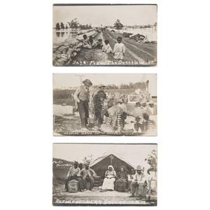 1912 Lower Mississippi Flood Real Photo Postcards