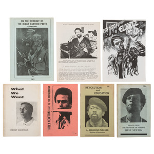 Black Panther Pamphlets, 1966-1970 by Cleaver, Carmichael, and Newton