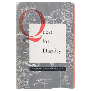 Black Doctor's Autobiography, Quest for Dignity: An Autobiography of a Negro Doctor, 1950