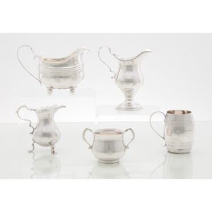 Georgian Sterling Hollowware, Plus