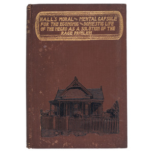 Texas Biographies and Uplift Book, Hall's Moral and Mental Capsule